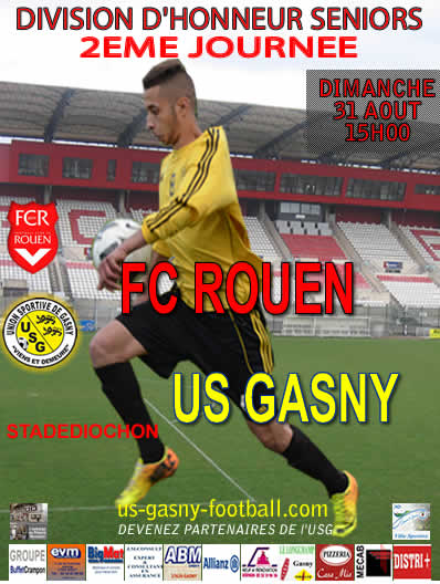 US GASNY FOOTBALL  DH 31 AOUT 2014